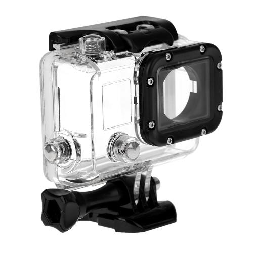 Andoer カメラ用防水ケース 30Mまで使用でき ブラケット付き GoPro HD HERO 4/3+/3用のケース