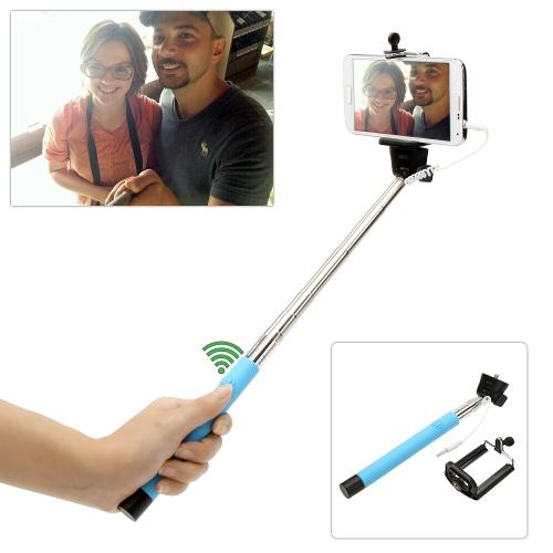 Przewodowy kabel Zdalne sterowanie fotografowaniem Automatyczne samowyzwalacz samowyzwalacza Wydłużony uchwyt na rękę Monopod Pasek na laptop dla iPhone Samsung IOS 5.0 Android 4.2 Smartphones