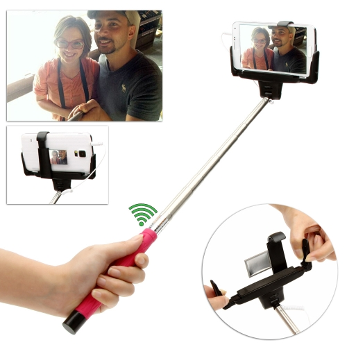 Wired Cable Remote Shooting Control Shutter Selfie Self-timer  Extendable Monopod Handheld Grip Pole Stick for iPhone Samsung IOS 5.0 Android 4.2 or above