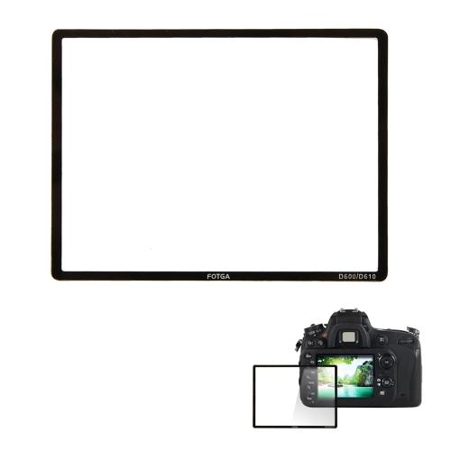 Fotga Professional Camera LCD Optical Glass Screen Protector for Nikon D600 Camera