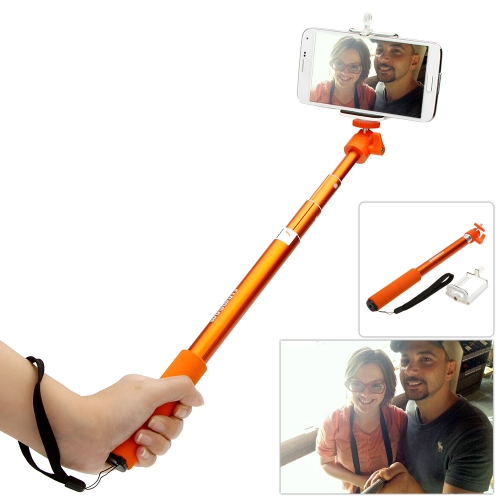 Firmcam Telescopic Extendable Handheld Selfie Self-Timer Rotatable Pole Monopod Stick Grip with Adjustable Phone Holder iPhone Samsung Sony