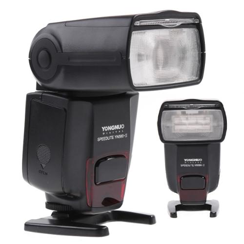 Black YongNuo YN560II Flash Speedlite LCD Screen for Canon 5D Mark II 7D 600D 550D Nikon Pentax Olympus