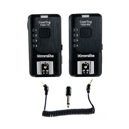 2.4Ghz Wireless 7 Channels T320 Flash Trigger Auto-sensing TTL Pass-through Universal for Canon Nikon Camera