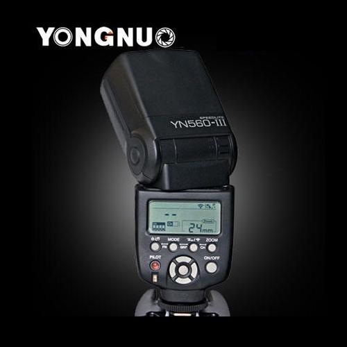 Flash Yongnuo YN560 Speedlight III du Speedlite soutien RF-602/603 pour Canon Nikon Pentax Oympus