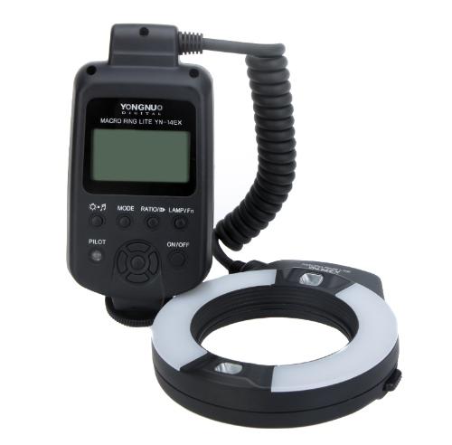 キヤノン EOS デジタル一眼レフ カメラ用 YONGNUO YN 14EX マクロ リング フラッシュ ライト