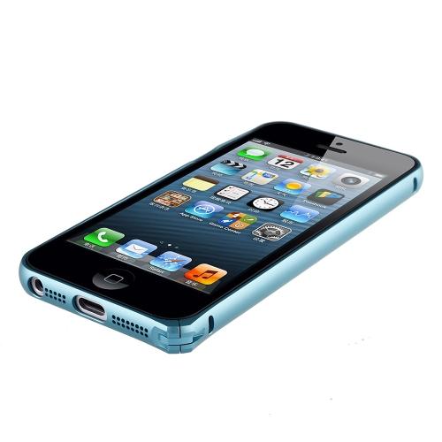 dodocool Ultrathin Lightweight Metal alumínio pára-choques Frame Shell Case protetor capa para iPhone 5 5S