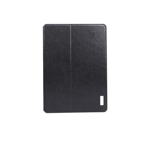 dodocool 360 graus rotação PU couro giratória Flip Stand caso cobrir casca protetora para iPad preto ar
