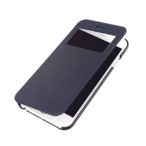 dodocool флип Пу кожа Ultra Slim случае покрытия одного окна для 4,7» Apple iPhone 6 черный