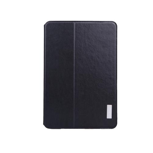 dodocool 360 graus rotação PU couro giratória Flip Stand caso cobrir casca protetora para iPad mini com ecrã Retina preto