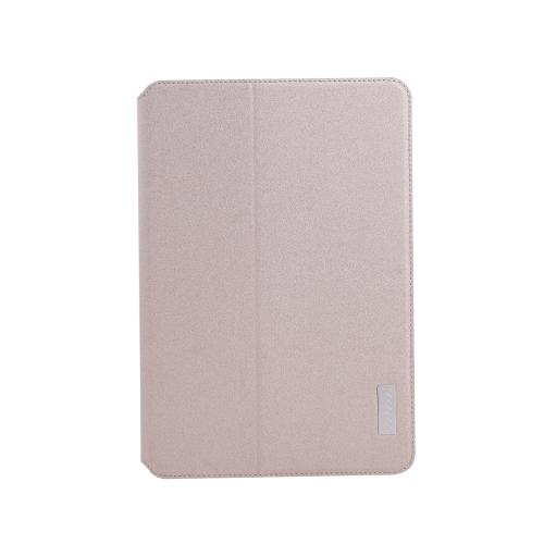 dodocool 360 graus rotação PU couro giratória Flip Stand caso cobrir casca protetora para iPad mini com ecrã Retina ouro