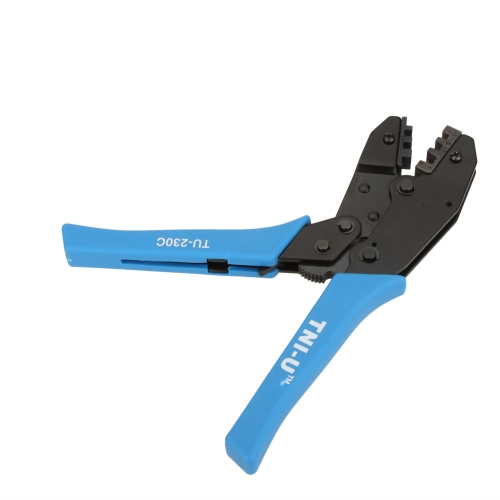 TU-230C 8.5''Locking Crimping Press Pliers Crimper Clamps Electricians Tools for Non-insulated Terminals 20-10AWG
