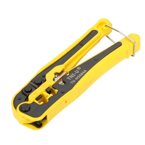TU-N5684A Multi-purpose 4P/6P/8P Network Cable Crimping Press Pliers Crimper Clamp Tools Wire Cutter Stripper