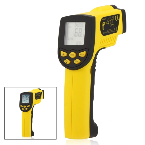 HoldPeak HP-1300 Non-contact 16:1 Infrared IR Thermometer Laser Temperature Gun Sensor Meter Range -50~1300℃