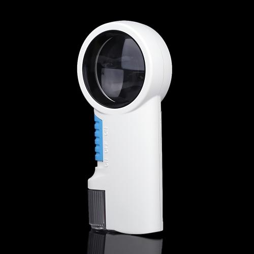 8 X 多機能ポータブル ハンドヘルド ガラス ルーペ拡大鏡拡大鏡 2 LED ライト