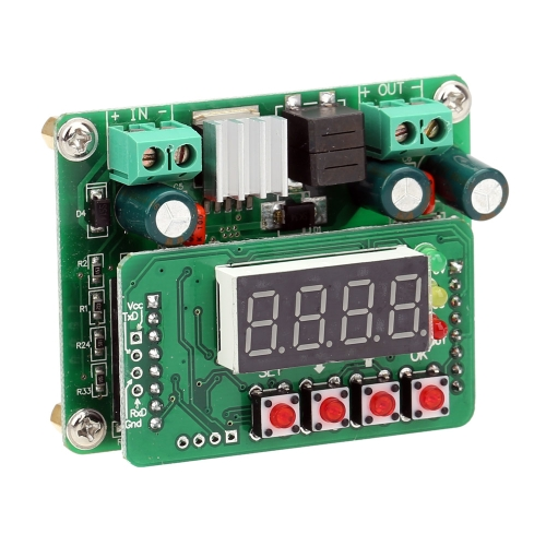 DC-DC Digital Control Step Down Adjustable Power Supply Module Input 6V-40V Output 0V-36V