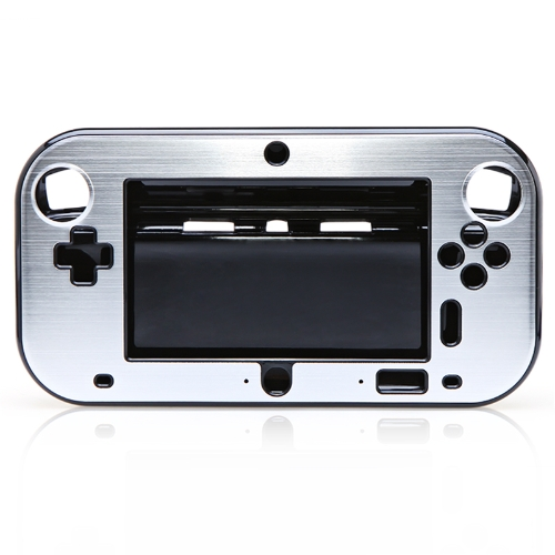 Plastic Cover for WII U Silvery