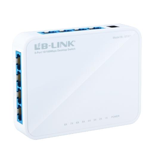 8 Port Ethernet Desktop Switch