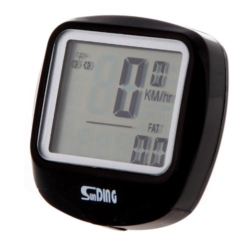 Multifunctional Waterproof LCD Bike Bicycle Odometer Speedometer