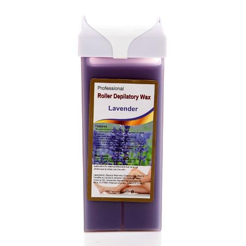 Roller Hot Depilatory Wax Cartridge Lavender Heater Waxing Hair Removal Salon