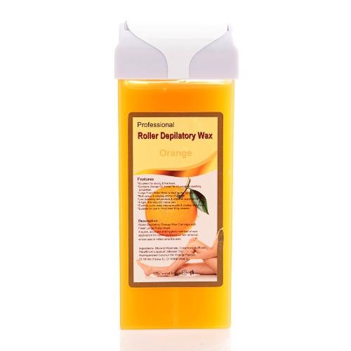 Roller Hot Depilatory Wax Cartridge Orange Heater Waxing Hair Removal Salon