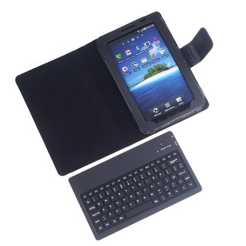 Wireless BT Keyboard Case for Samsung Galaxy Tab P1000