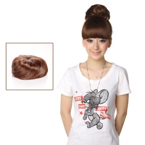Pony Tail Bun Perücke