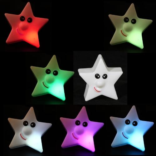 Noël LED lumière colorée Star