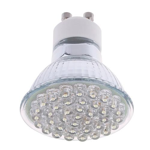 LIXIADA LED Light Bulb Warm White 38 LED GU10 1.5W 200V-230V