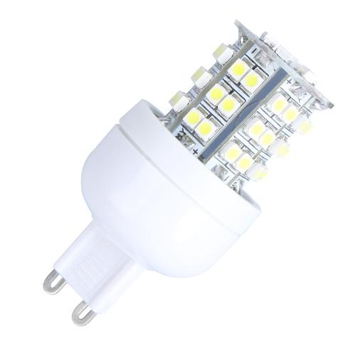 LED Corn Light Bulb 48 3528 SMD 3W G9 White 220V