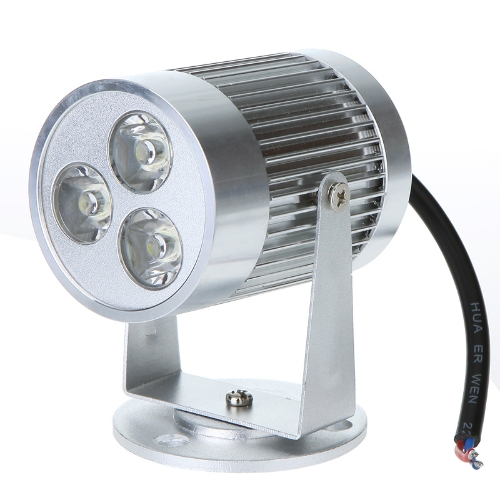3 * 1W LED ciepły biały Żarówka Counter Reflektor Lampa ścienna