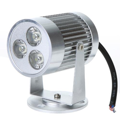 3 * 1W Warm weißes LED-Licht Counter Spotlight Wand Lampe Birne