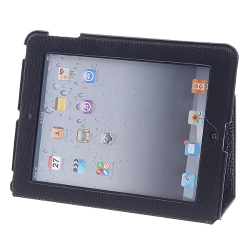 Capa de couro genuíno Real para iPad 2 3 novo iPad
