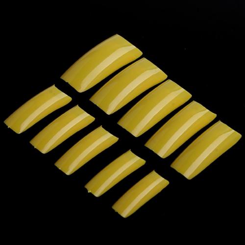 500pcs Yellow Professional False Nails Art Acrylic Tips