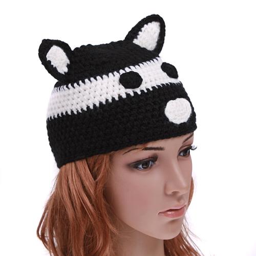 Chapéu de lã Animal dos desenhos animados
