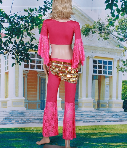 Topy Talia Link i spodnie taniec brzucha