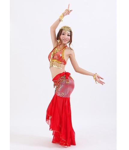 Topy i spódnica na taniec brzucha