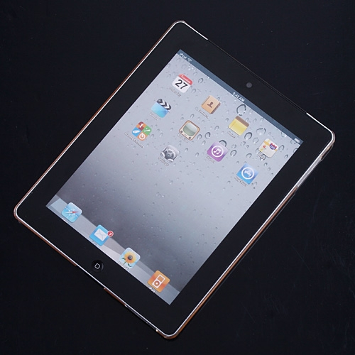 Transparent Clear Hard Back Cover Case for iPad 2