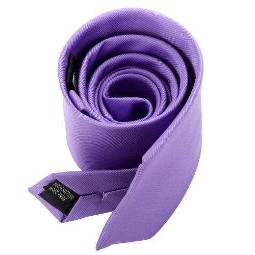 Новый классический однотонный мужской шеи галстук галстук обычный участник свадьбы случайные розовый фото