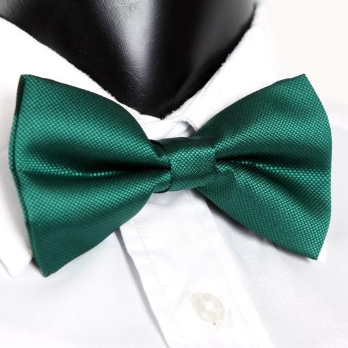 Moda smoking Bowtie sólido Color corbatas de hombres ajustable boda fiesta pajarita corbata dorada pre-atado