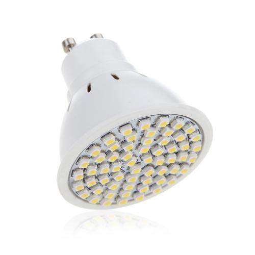 GU10 4W 60SMD 3528 1210 LED Light Bulb Lamp Spotlight Warm White 220V Energy Saving