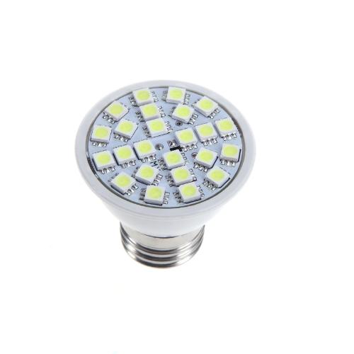 E27 5W 24SMD 5050 LED Glühbirne Lampe Strahler weiß 220V Energiesparen