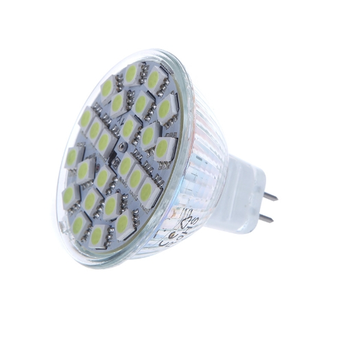MR16 G5.6 5W 24SMD 5050 LED Light Bulb Lamp Spotlight White 220V Energy Saving