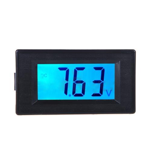 Вольтметр цифровой напряжения метр DC7.5-19.99V ЖК-дисплей