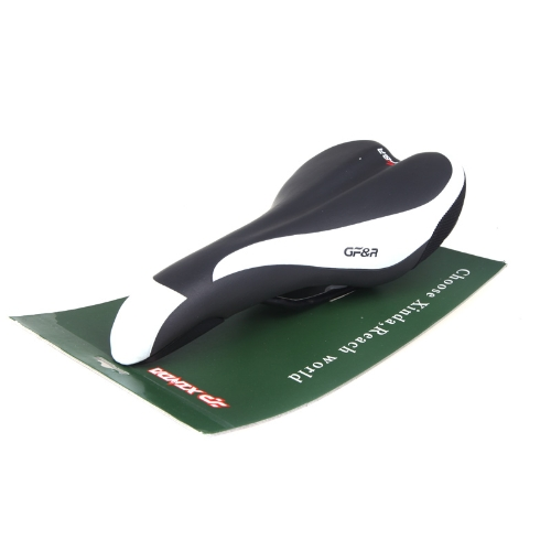 Xinda Mountain Bike Bicycle Breathable Mesh Saddle Seat Cushion Pad with Scale Image