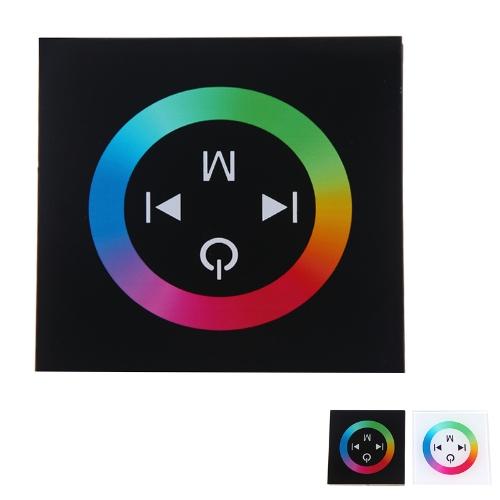 Touch Panel LED Dimmer Regolatore per 3528/5050 RGB LED Strip luce 12-24V nero