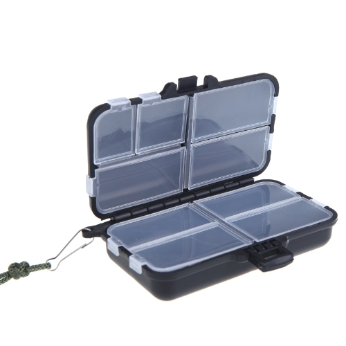 Fishing Tackle Box Fliegenfischen Box Spinner Bait Minnow Popper 9 Fächer