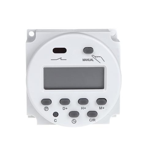 Цифровой ЖК питания программируемый таймер переключения AC 220V-240V 16А