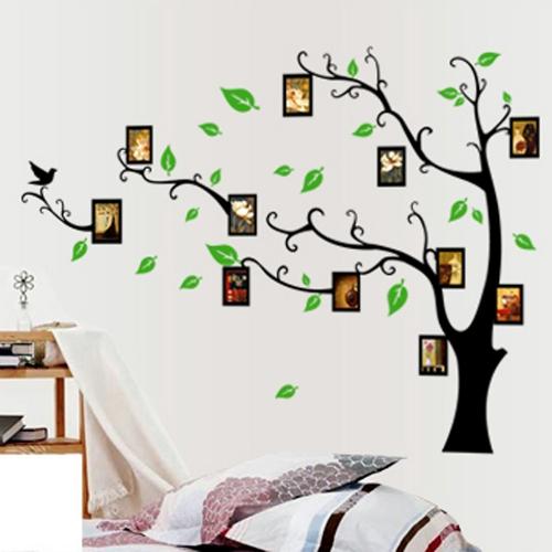 Photo Frames Tree DIY Removable Art Vinyl Wall Sticker Decor Mural Decal