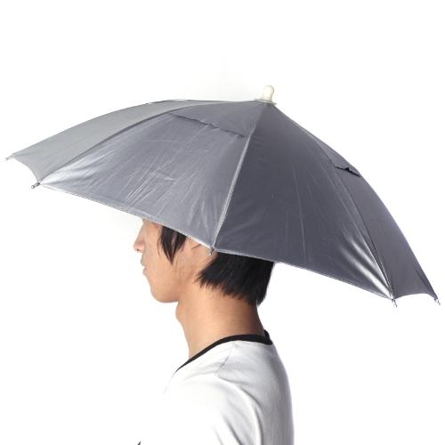 Lixada Sombrero Parasol Paraguas Plegable Deporte al Aire Libre Golf Pesca Caza Azul