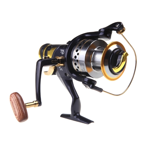 9 +1 rodamientos Cojinetes BB izquierda / derecha intercambiable manecilla plegable ruecas de pesca SW60 5.2:1